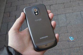 Galaxy Nexus Rückseite