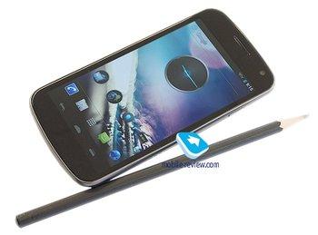 Galaxy Nexus Seite und Vorne