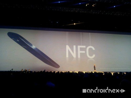 Samsung Galax S3 Feature: NFC