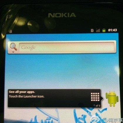 Nokia-Prototyp mit Android: Was-wäre-wenn-Bilder aufgetaucht