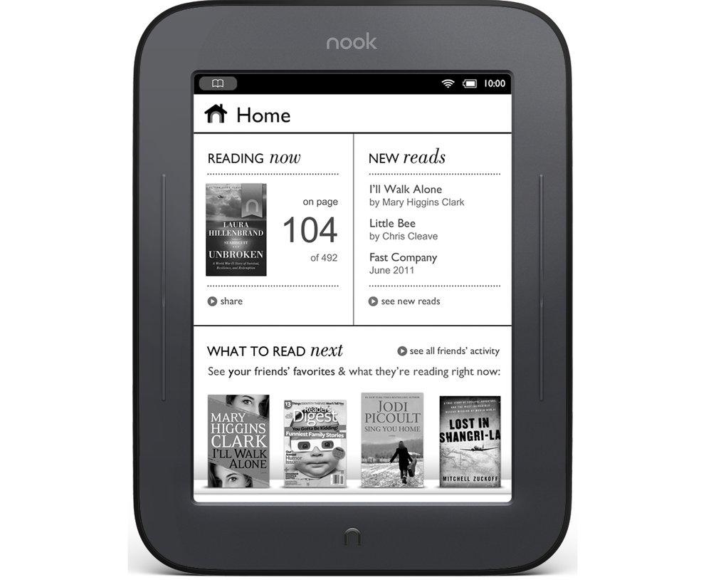 Nook E-Reader: Touchscreen-E-Ink-Reader mit Android vorgestellt