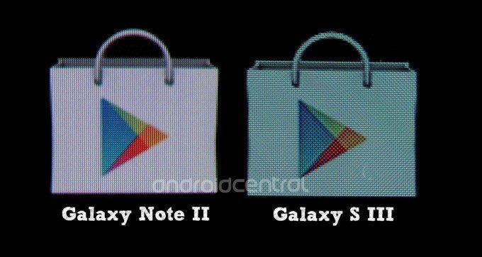 Samsung Galaxy Note 2: Keine PenTile-Matrix und heller als SGS3