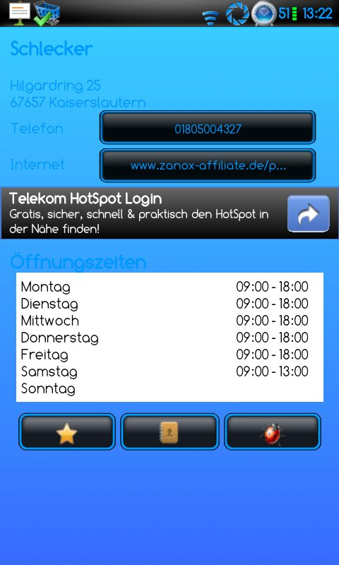 Öffnungszeiten - Wann hat welcher Ort auf? Diese App hilft!