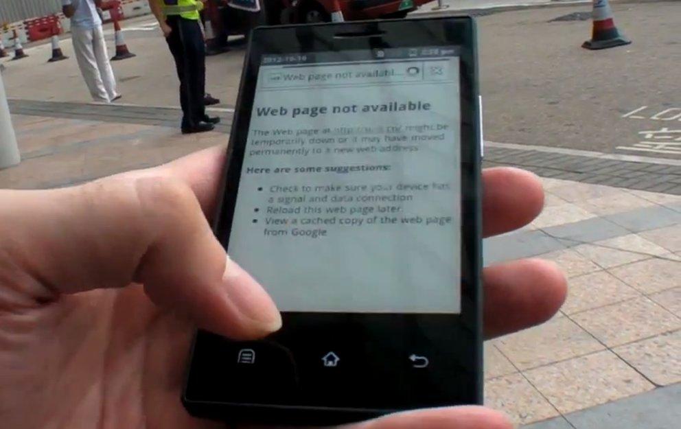 Onyx: Smartphone mit E-Ink-Display und gigantischer Akkulaufzeit
