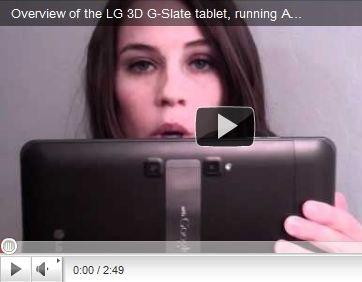 LG Optimus Pad im Video, doch mit Rot-Blau-Brille?