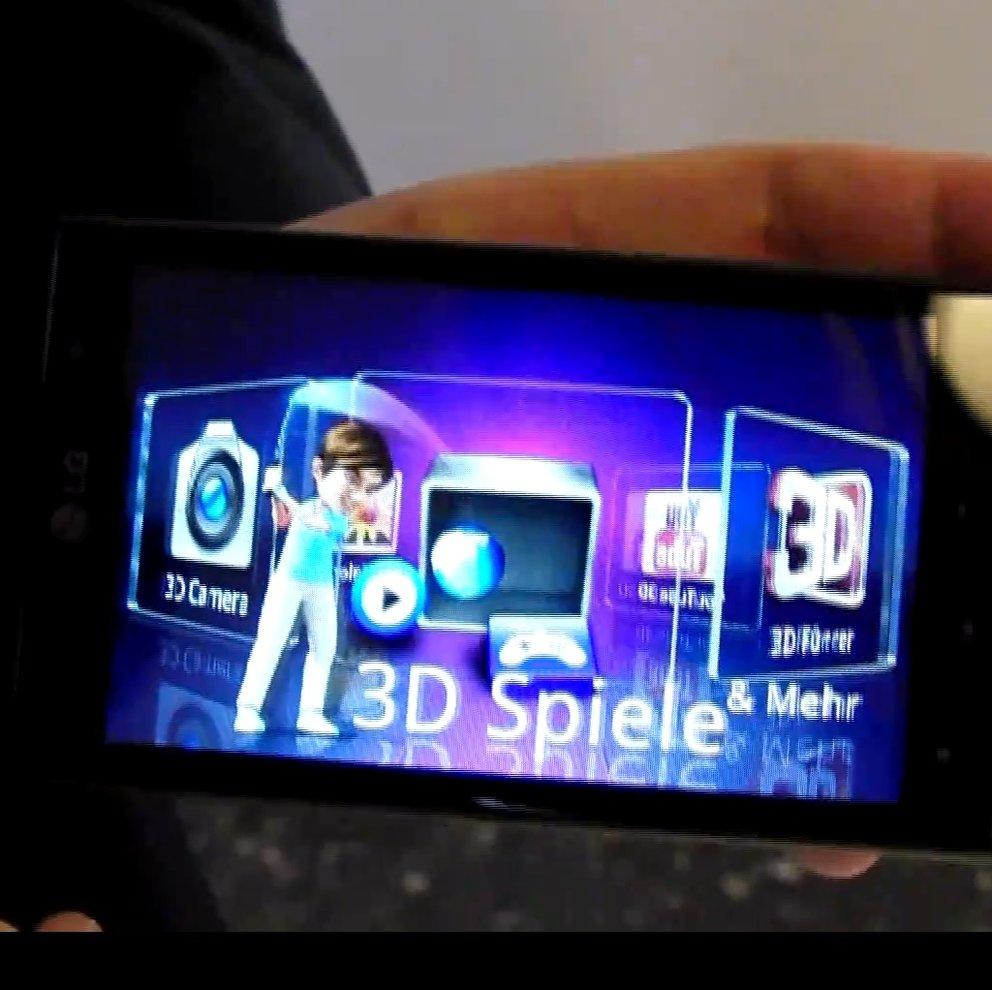 Hands-on: LG Optimus 3D [Droidcon]