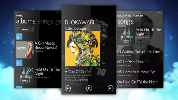 Noozy: Android-Player im Zune-Look
