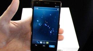 Panasonic Eluga Power: Hands-On zum 5-Zoll-Superphone [MWC 2012]