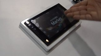 Parrot Asteroid 2DIN: Navigationssystem, Musikanlage, Autocomputer mit Android im Hands-on [CES 2012]