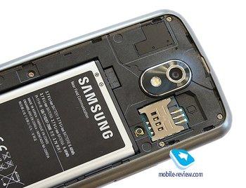 Galaxy Nexus unterm Akkudeckel