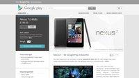 Nexus 7: Zeichen für Deutschland-Start verdichten sich weiter