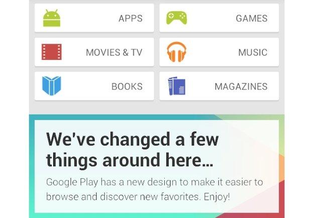 Play Store-Redesign: So sieht Googles App-Laden demnächst aus