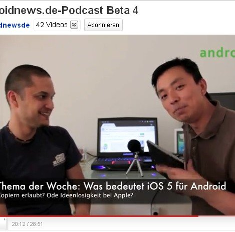 Freitag ist Podcast-Tag: androidnews.de-Podcast Beta 4