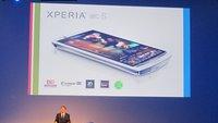 Sony Ericsson Xperia arc S: Nachfolger mit 1,4 GHz-CPU vorgeführt [IFA 2011]