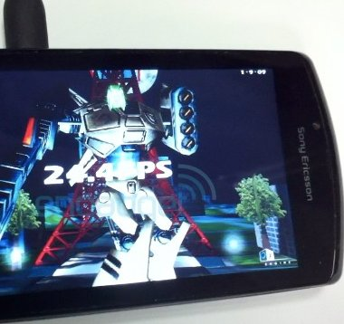 Android-Prototyp im Benchmark: Video des PlayStation Phone