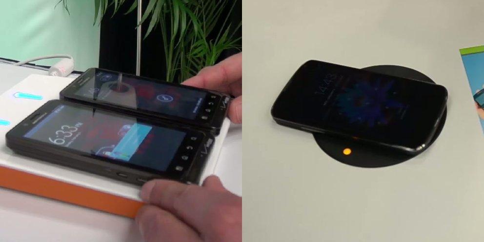 Qi-Standard: Smartphones kabellos laden per Ladestation, Tisch oder Tablet [CES 2013]