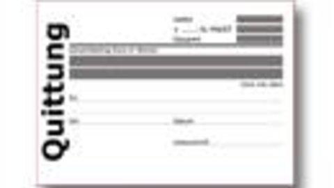 Quittungsvorlage Kostenlos Herunterladen Vorlage Quittung 8