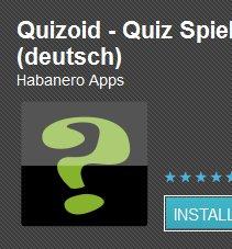 Schlicht aber gut: Quizoid-Rätselspaß kostenlos im Android Market