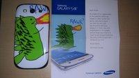 Samsung Galaxy S3: Fan erhält besonderes Design als Dankeschön