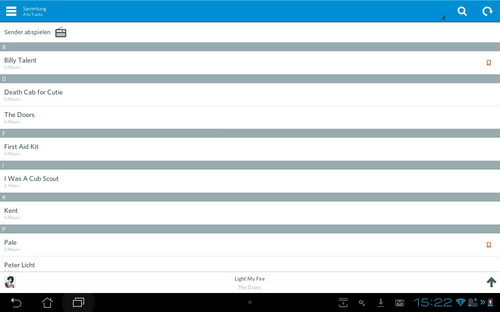 rdio beta tablet