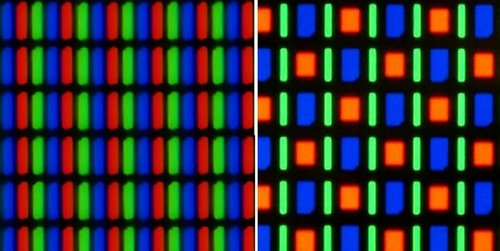 rgb vs pentile matrix