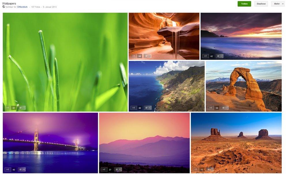 Android-Wallpapers: Foto-Hintergründe von Googler Romain Guy zum kostenlosen Download