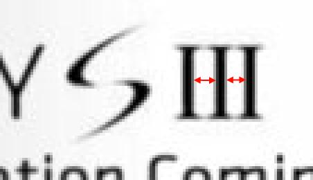 s3 schriftzug