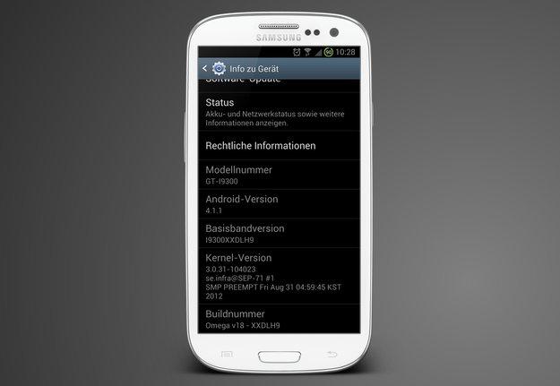 Samsung Galaxy S3: Jelly Bean-Firmware XXDLH9 zum Download bereit