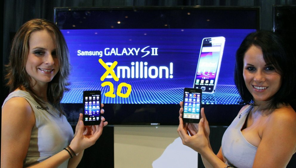 Samsung Galaxy S2: 20 Millionen mal verkauft