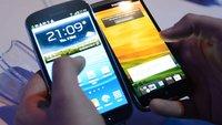 Samsung Galaxy S3: Vergleich mit Galaxy S2 & HTC One X [Video]
