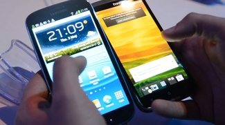Samsung Galaxy S3: Vergleich mit Galaxy S2 &amp&#x3B; HTC One X [Video]