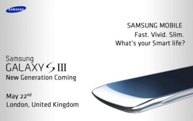 Samsung Galaxy S3: Neues Bild, altes Präsentationsdatum [Gerücht]