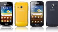 Samsung Galaxy Ace 2, Mini 2: Neue Smartphones vorgestellt