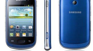 Samsung Galaxy Music: Smartphone mit Stereoboxen vorgestellt [Update: Kein Beamer]