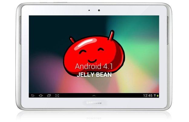 Samsung Galaxy Note 10.1: Jelly Bean-Update wird ausgeliefert