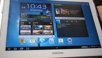 Samsung Galaxy Note 10.1: Unboxing-Fotos und Spezifikationen aufgetaucht
