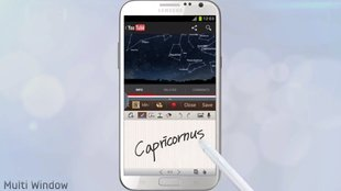 Samsung Galaxy Note 2: Innovatives Splitscreen-Multitasking (Multi-Window) im offiziellen Video