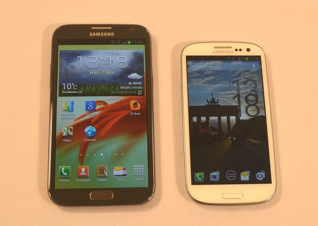 Samsung Galaxy Note 2, S3, S4: Update auf Android 4.3 wird getestet [Gerücht]