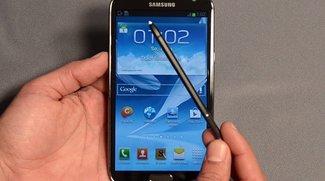 Samsung Galaxy Note 2: Android 4.3-Update rollt in ersten Ländern aus