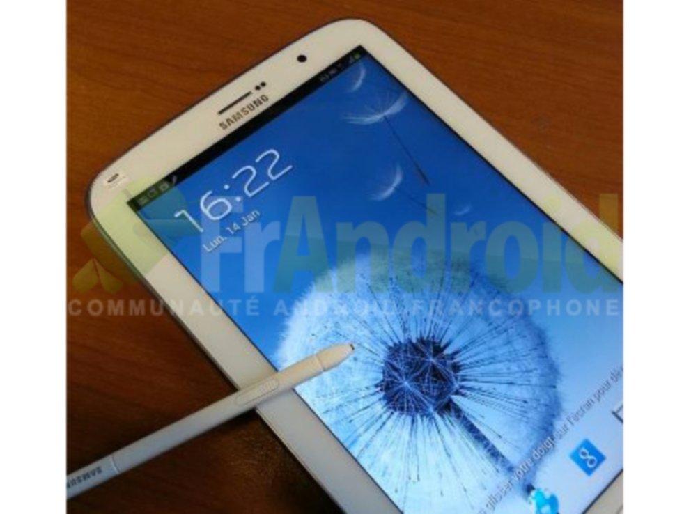 Samsung Galaxy Note 8.0: Neues Bildmaterial bestätigt S Pen