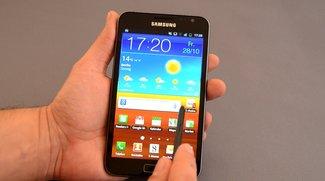 Samsung Galaxy Note: Ice Cream Sandwich-Update verspätet sich