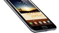 Samsung Galaxy Note: Erster Leak für Android 4.1 Jelly Bean aufgetaucht