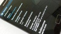Samsung Galaxy Note: Performance-Update XXLRK mit neuer Tastatur