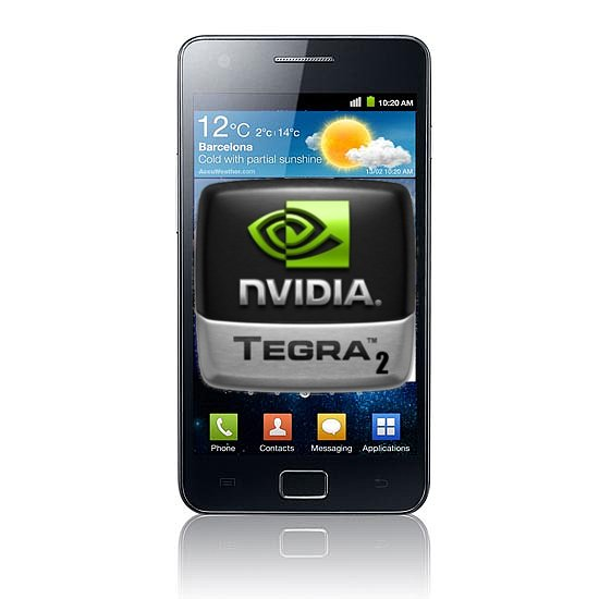 Samsung Galaxy S II: i9103 mit Tegra 2 und Super Clear LCD-Display?