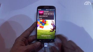 Samsung Galaxy S4: Ausführlicheres Hands-On [Video]