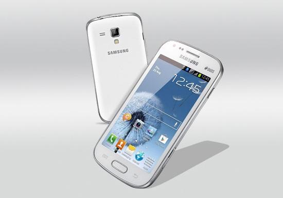 Samsung galaxy duos s7562 dual sim handy im galaxy s3 gewand