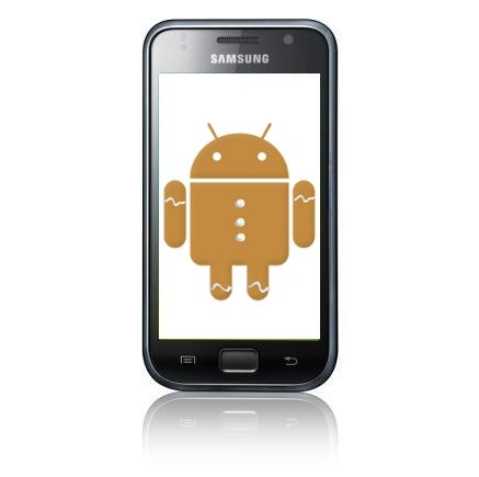 Samsung Galaxy S: Gingerbread Update wird ausgerollt