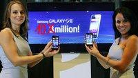 Samsung hat 10 Millionen Galaxy S II weltweit verkauft