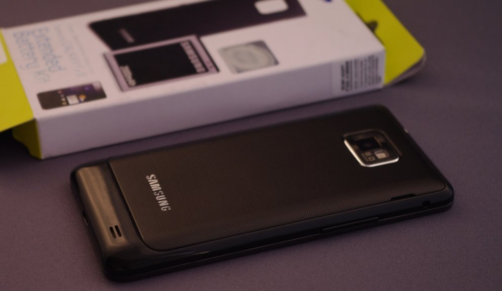 Samsung Galaxy S II: 2000 mAh-Akku im Hands-on