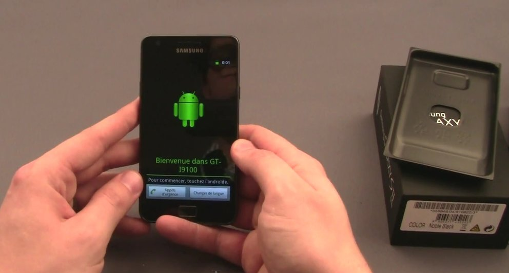 Samsung Galaxy S2: Unboxing-Video des Kassenschlagers